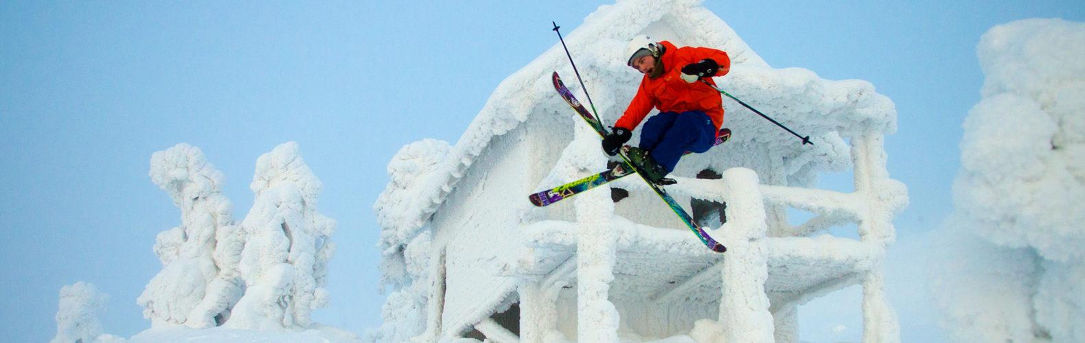В Леви Вас ждет множество парков и зон для фристайла в непосредственной близости от склонов курорта. Лыжи или сноуборд - неважно, здесь понравится всем.