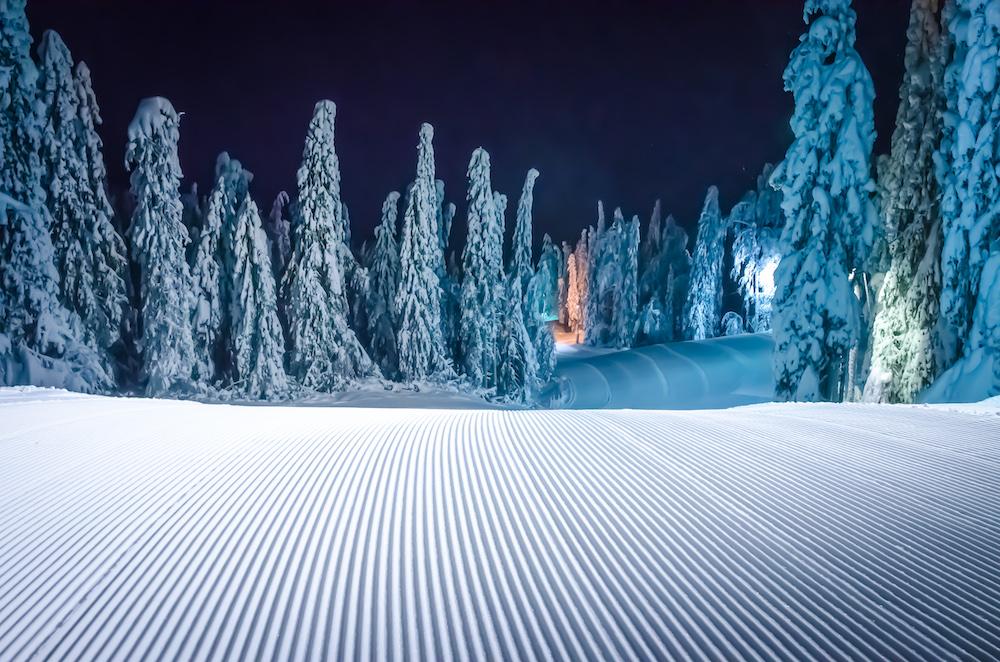 Finnland ist ein richtiges Winterwunderland.