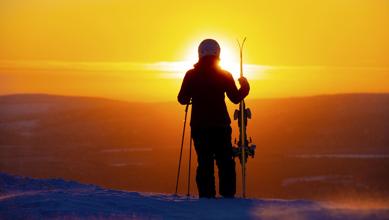 Die Skisaison in Finnland hat für jeden etwas zu bieten.