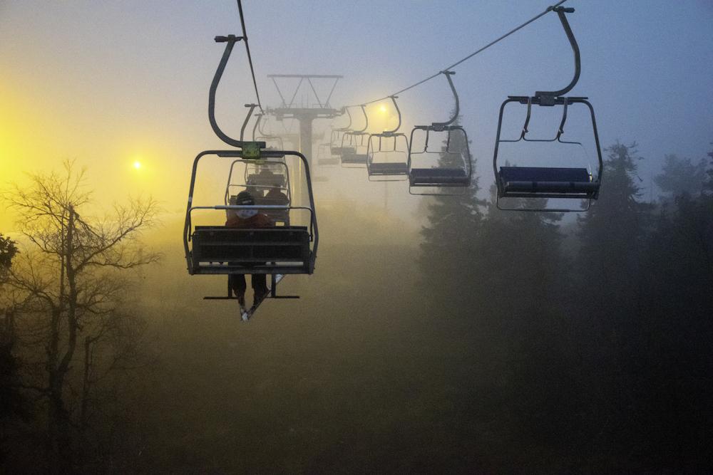 Im Oktober öffnen je nach Witterung die ersten Skiresorts.