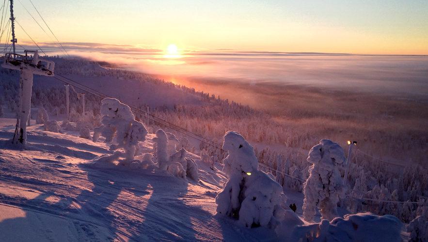 Es gibt viele Gründe in Finnland den Winterurlaub zu verbringen.