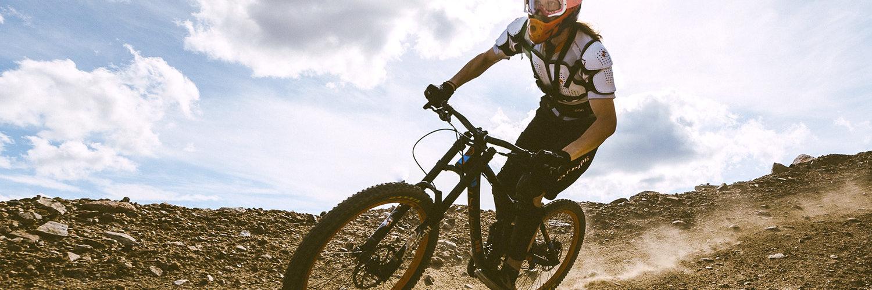 Ylläs panostaa pyöräilyyn. Mittavan bike parkin lisäksi tunturissa on paljon maastopyöräreittejä. Kuva: Eetu Leikas