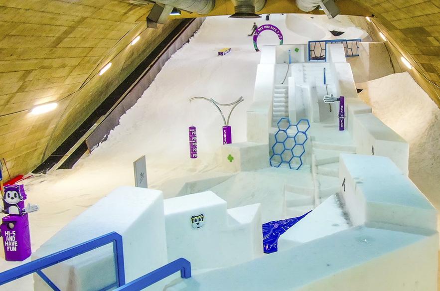 Vuokatti Max Snow World on täynnä tekemistä: laskemista suksilla ja laudoilla, sekä paljon lumipuuhaa koko perheelle.
