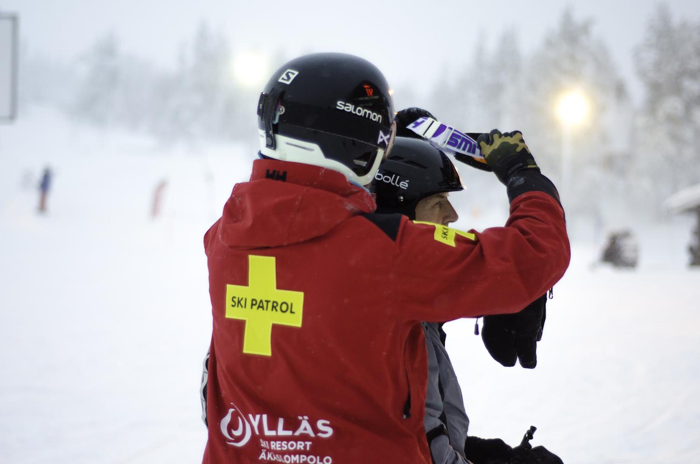 Für Sicherheit ist in den finnischen Skigebieten gesorgt.