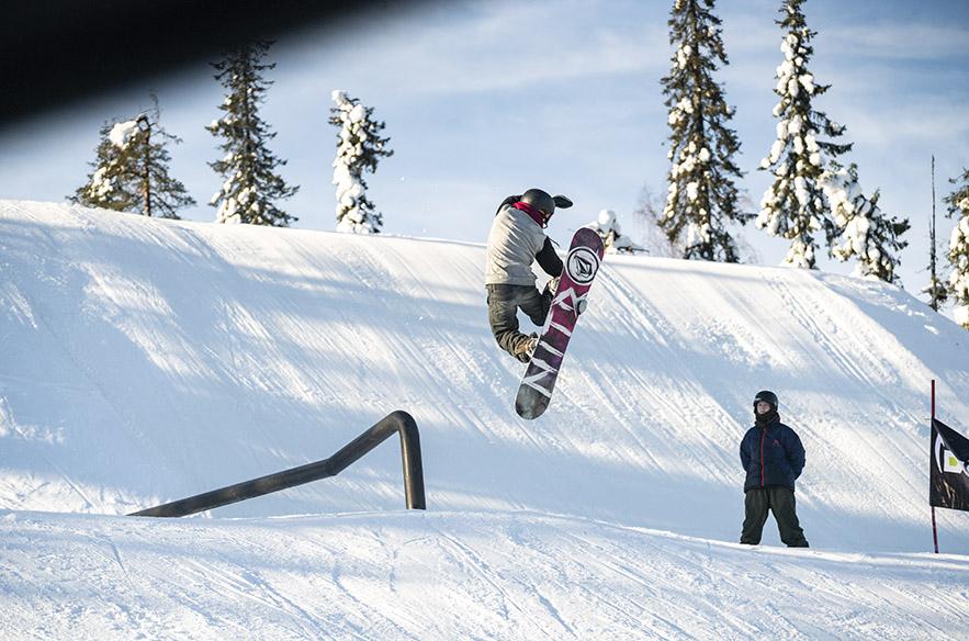 Iso-Syötteen parkit ovat keränneet laajalti kiitosta. Kehitystyö jatkuu, joten Iso-Syötteellä luvataan snowparkin olevan ensi kaudella entistäkin parempi.