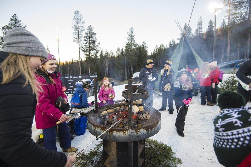 Der World Cup Levi ist ein richtiges Event | © Ski Sport Finland