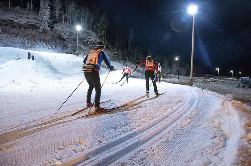 Latukansa löysi Vihti Ski Centerin heti avajaispäivänä.