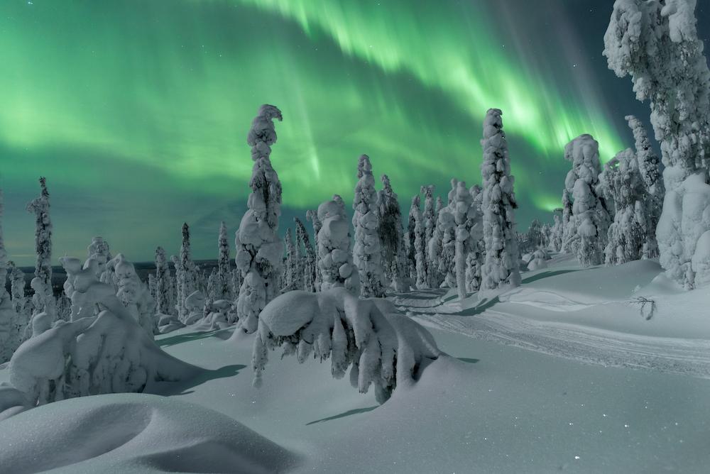 Ein unvergesslicher Anblick. Foto: Thomas Kast, Visit Finland