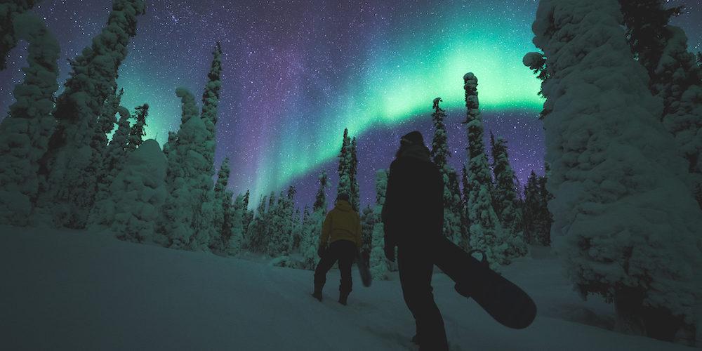 Ein ganz besonderes Erlebnis. Foto: Eetu Leikas, Visit Ylläs