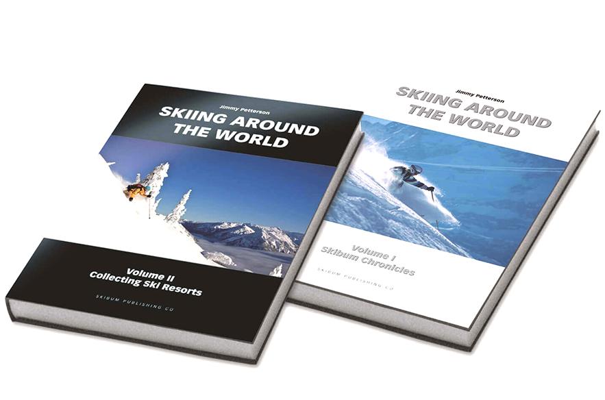 Järkälemäisen Skiing Around the World 2 -kirjan voi hankkia esimerkiksi verkkokaupasta tai GoExpo Winter -messuilta marraskuussa 2019.