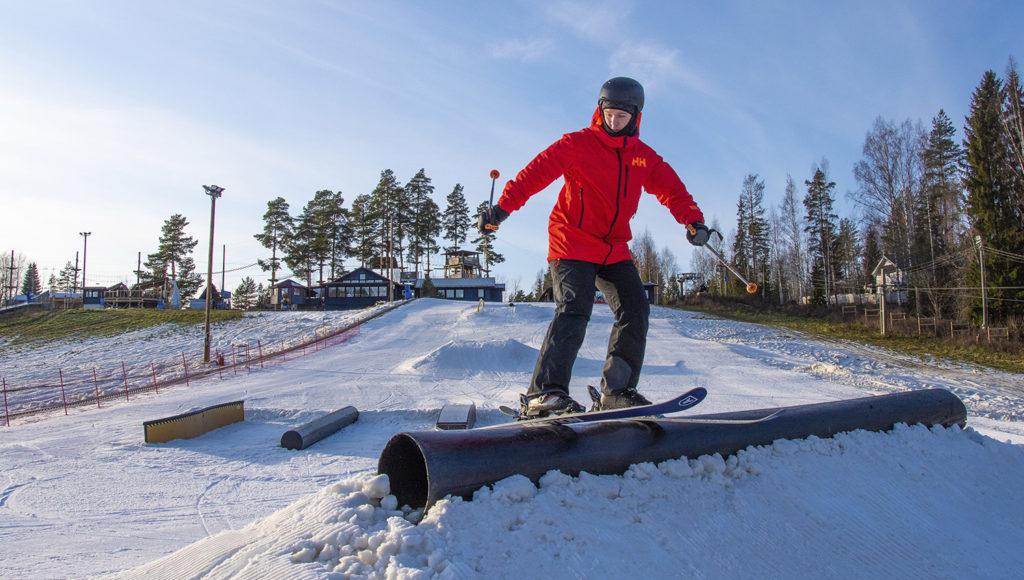 Talman kausi 2019–2020 käynnistyi aurinkoisessa säässä perjantaina 1.11.2019.