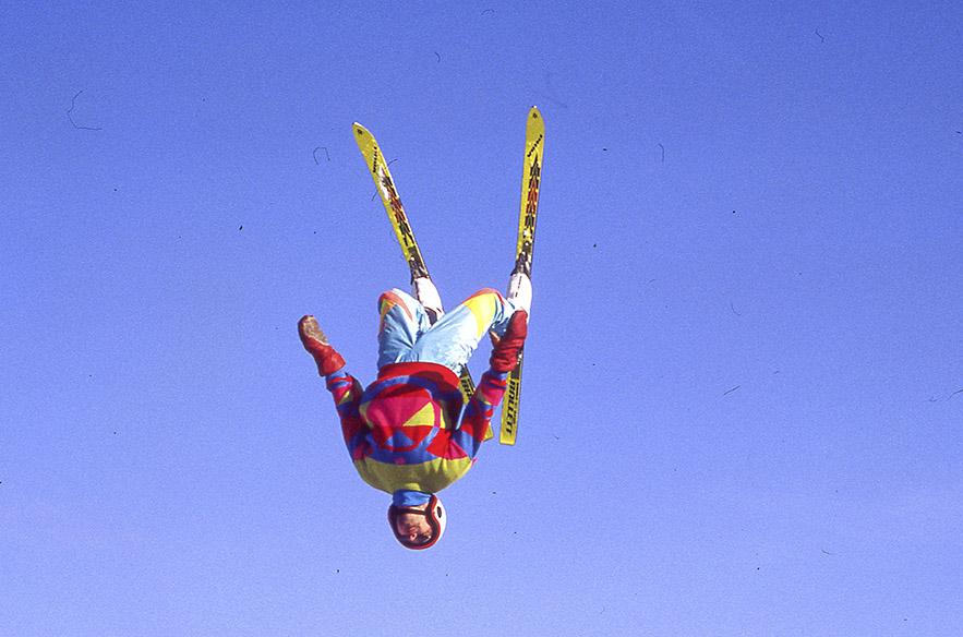 Kultaisella 80-luvulla freestyle oli kova juttu myös Messilässä.