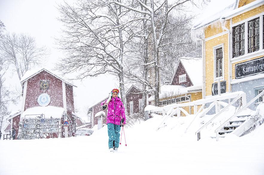 Messilän puolen vuosisadan mittaista alamäkeä juhlitaan lumella 11. tammikuuta 2020.
