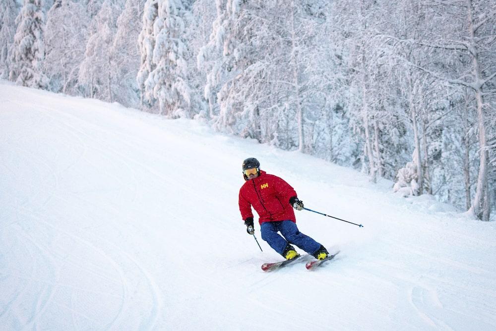 Skispaß auf den finnischen Pisten.
