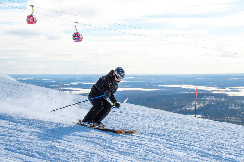 Levi Lappland Skigebiete in Finnland
