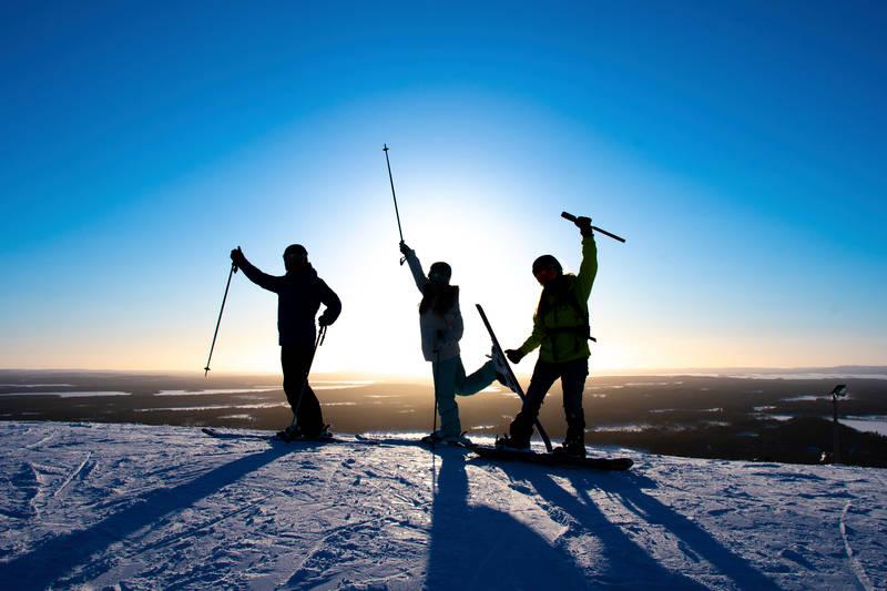Skigebiet Ruka