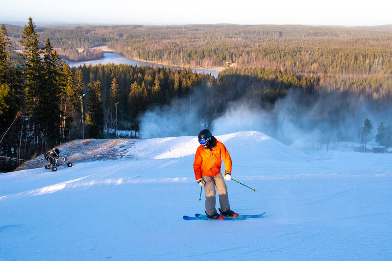 Skigebiet Sappee