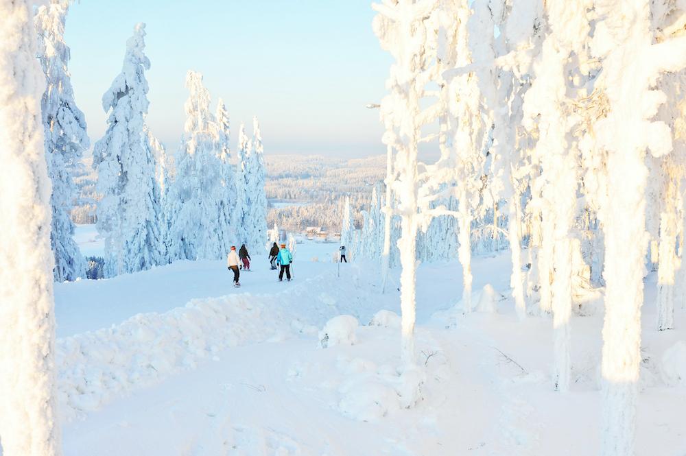Skigebiete in Finnland Himos