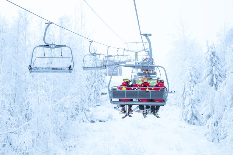 Skigebiete in Finnland Tahko