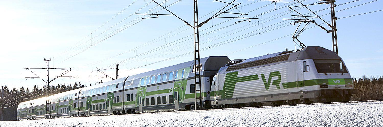Junamatkassa Lappiin houkuttaa vaivattomuus ja pieni seikkailuhenkisyys. Kuva: VR Group