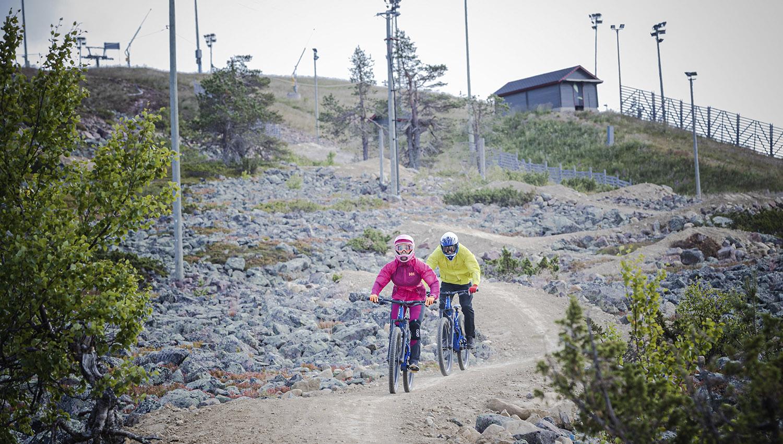 Levi Bike Park saa mittavan uuden reitin: lähes neljä kilometriä pitkä Village Trail avautuu kesällä 2020.