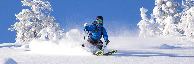 Takamaasto-oppia voi hakea myös hiihtokouluista. Esimerkiksi Pyhän ja Ylläksen hiihtokoulut tarjoavat FINLAV-kursseja.