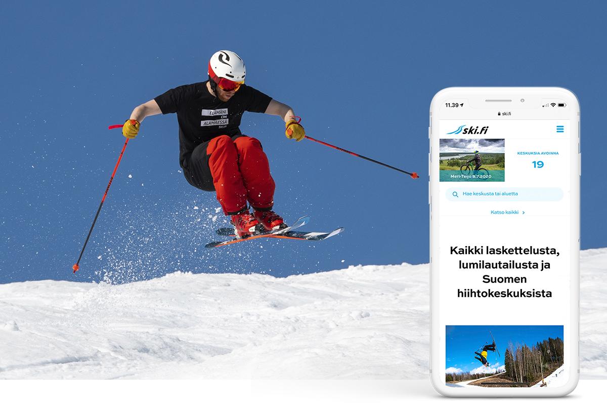 Ski.fi kertoo tuoreimmat tiedot keskusten avoinna olevista rinteistä, hisseistä, laduista sekä bike park -reiteistä. Lisäksi sivustolla on paljon tietoa, ideoita ja vinkkejä harrastukseen.