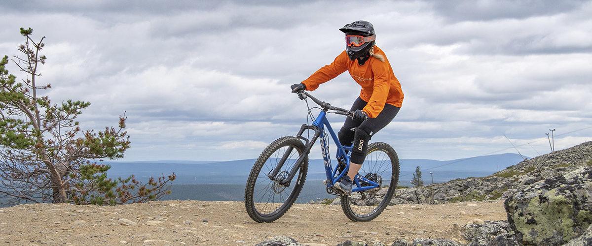 Yli neljä kilometriä pitkä Levi Village Trail on yksi kesän 2020 kiinostavimpia pyöräilyuutuuksia.