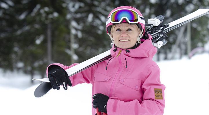 Heidi Kelho on Tornimäen uusi kukkulan kuningatar.