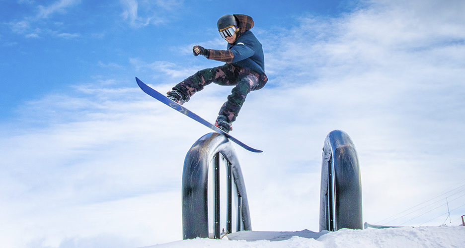 Talman parkki uudistuu talvelle 2020–2021 entistä monipuolisemmaksi. Projektista vastaa X-Gamesin suorituspaikkoja rakentanut Schneestern, mutta mukana on myös Janne Lipsanen (kuvassa) sekä Peetu Piiroinen.
