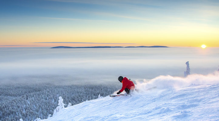 Due to Covid only Finns will be able to enjoy the magnificent Finnish nature and weather in ski season 2020–2021.