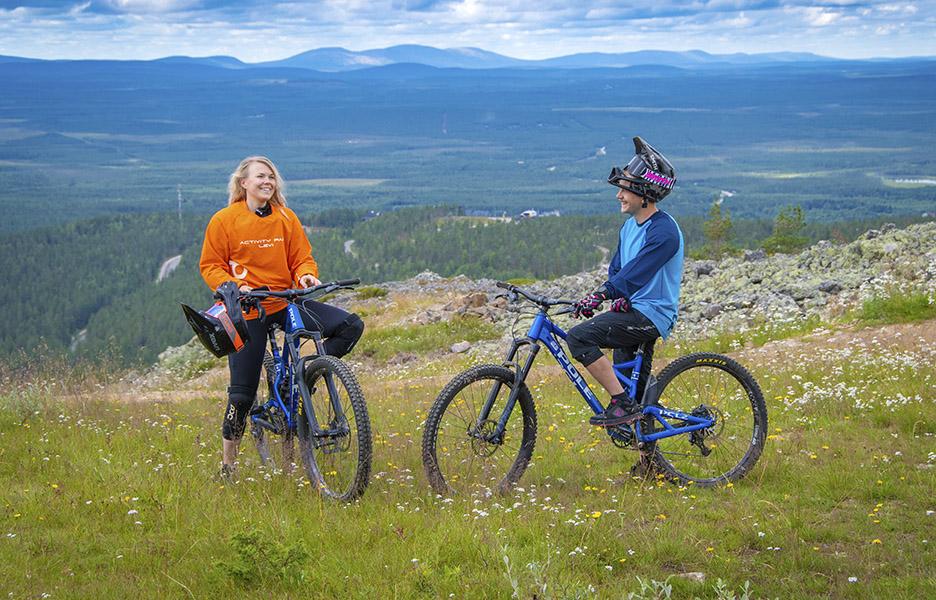 Uusi Bikeparkfinland.fi-sivusto kertoo kaiken alamäki- ja hissipyöräilystä sekä Suomen bike parkeista.
