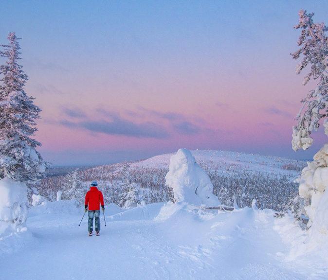Sallan omanlainen imago ja tunnelma viehätti valintaraatia Vuoden hiihtokeskus -palkinnon arvoisesti.